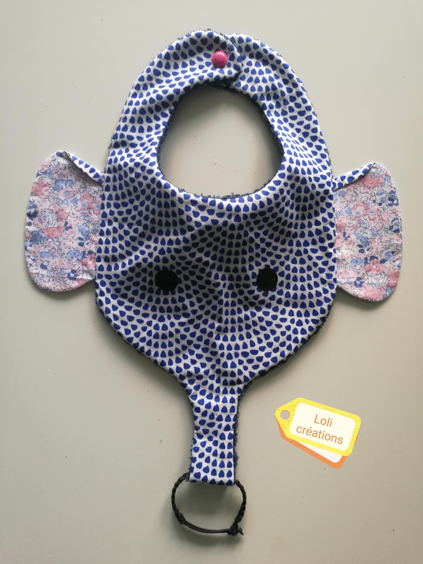 Bavoir éléphant