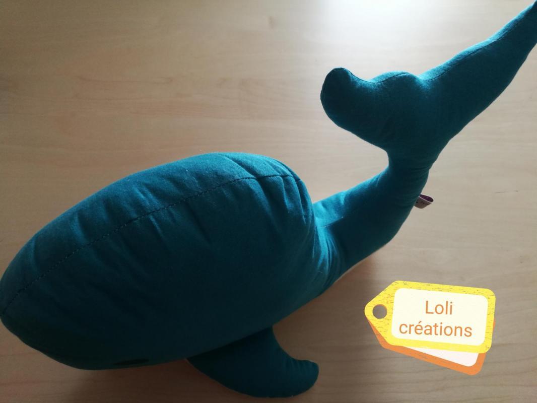 Coussin baleine
